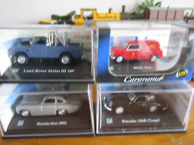 4 NEW Individual Packed Diecast Model Cars OO/HO Lot 4