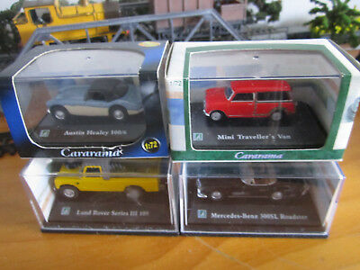 4  NEW Individual Packed Diecast Model Cars for OO/HO  lot 1