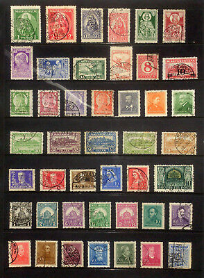 Page of earlier stamps & sets from Hungary #3