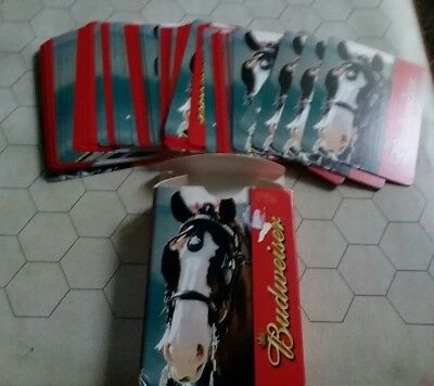 Budweiser playing cards from 2005 Clydesdale Casino Quality
