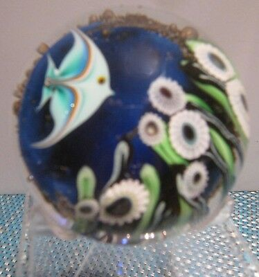 Orient & Flume Carmel by the Sea-Angel Fish  Handcrafted Paperweight ~ 1979