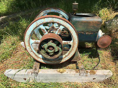 Fairbanks Morse Hit and Miss Z 6 hp engine No Welds or cracks old paint