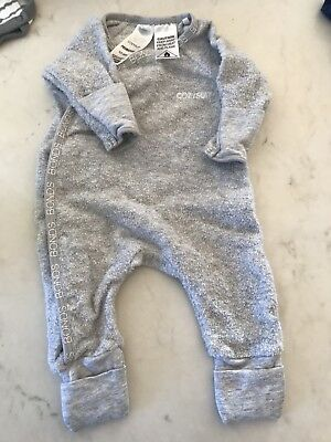 Baby Boy's/Girl's Bonds Preemie Cozysuit Coverall Size 00000 - As new condition
