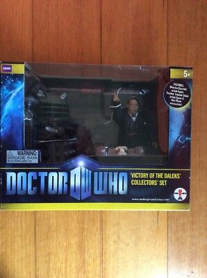 UNDERGROUND TOYS DOCTOR WHO VICTORY OF THE DALEKS COLLETOR's SET. Brand New