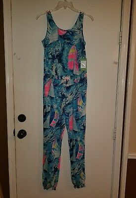 Girls X Large * XL * Lilly Pulitzer Jumpsuit * NEW WITH TAGS * Retail $78.00
