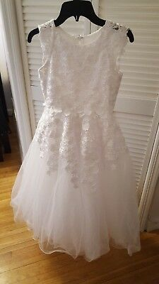 8066573fe Dress flower girl/first communion dress by Joan Calabrese for Mon Cheri  size 8