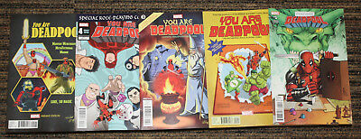 Marvel You Are Deadpool # 1-5 COMPLETE SET - All B  Covers - Ewing & Espin