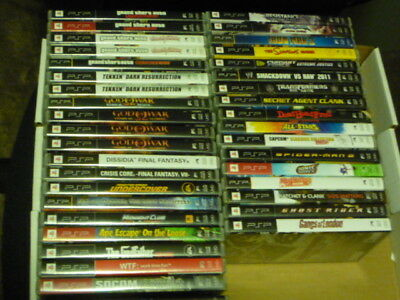 PSP Games Multi-listing - SONY PSP ~ Pick your game from Bundle / Lot