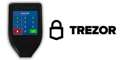 Trezor Model T 2nd Generation Digital Wallet by AUTHORIZED USA DISTRIBUTOR
