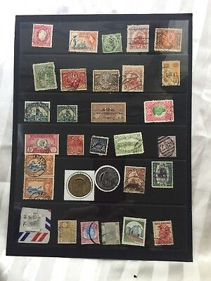 Selection Of Mix World Stamps = Some Rare! Dec Estate!