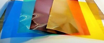 """Neewer Color Correction Gels - Your Choice of 4- 6"""" x 6"""" or 4- 3"""" x 3"""""""