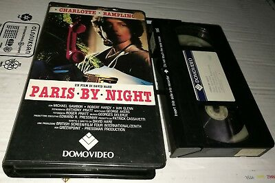 VHS - PARIS BY NIGHT di David Hare [DOMOVIDEO]