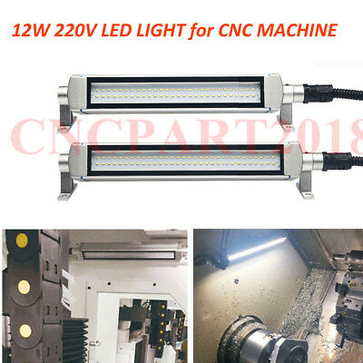 12W CNC Machine Lighting 110-220V LED Lamp L445mm Drilling Milling Lathe Light