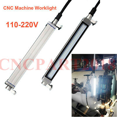 Waterproof White LED Light 16W 110V-220V Shockproof CNC Machine Milling Lamp