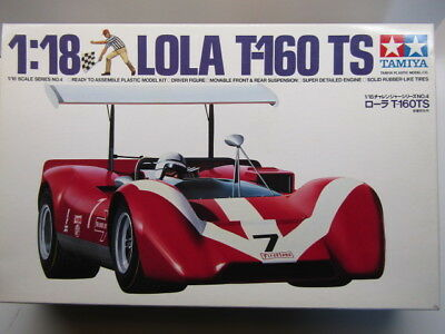 "Tamiya 1:18 Scale Lola T-160 TS ""Team Surtees"" Can Am Model Kit - New # 10004"