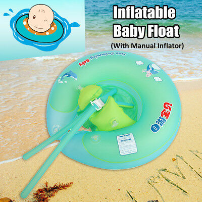 Baby BB Inflatable Float Swimming Ring Swim Trainer Safety Aid Water Pool Toy