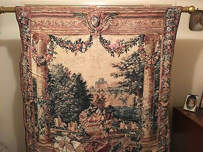 French tapestry - XVIIth century - Made in France - Subject Versailles