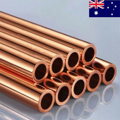 """Dia 3-18mm Red Copper Round Hard Tube Pipe Cutting Tool Metal Length 0.5m 20"""""""
