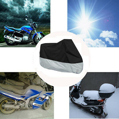 Waterproof Motorbike Scooter Dustproof Cover All Weather Protection Shelter New
