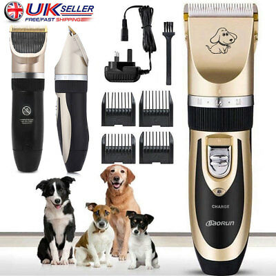 PRO Rechargeable Pet Hair Trimmer Cat Dog Electrical Clipper Shaver Set Shaving