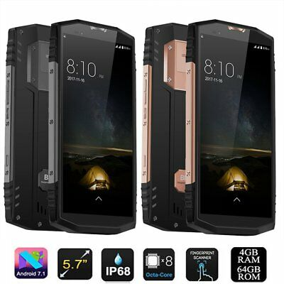 Blackview BV9000 5.7'' 64GB Octa-Core Android 7.1 IP68 4G Smartphone Noir 13 Mp