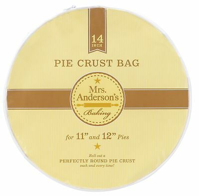 "Harold Mrs. Anderson's Baking 14"" Plastic Pie Crust Maker Bag Pastry Pizza Dough"