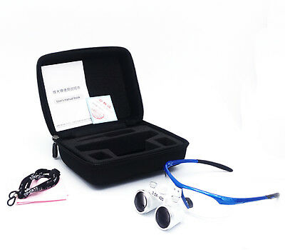 3.5X 420mm Dental Surgical Medical Binocular Magnifier Loupes Optical Glasses
