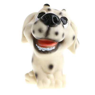 Resin Bulldog Doll Shaking Head Dog Coin Box Toy Home/Office Decor Collectibles