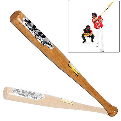 """Heavy Duty Wooden Baseball Rounders with or without Softball Bat size 32"""" Hot"""