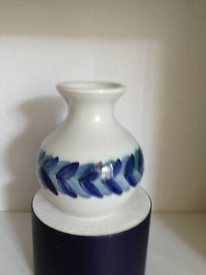 Iden Pottery Small Hand Painted Vase
