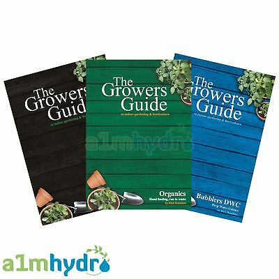 The Growers Guide Horticultural Book Series by Rich Hamilton