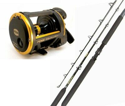 "PENN Squall Fishing Rod and Reel Combo 561H 5'6"" 15-24kg Rod & Squall 60LD Reel"
