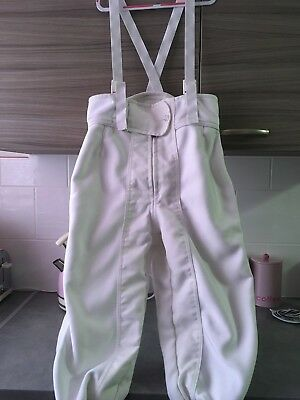 Leon Paul Spartan fencing breeches. Women's right-hand Size UK/USA 32. 350N