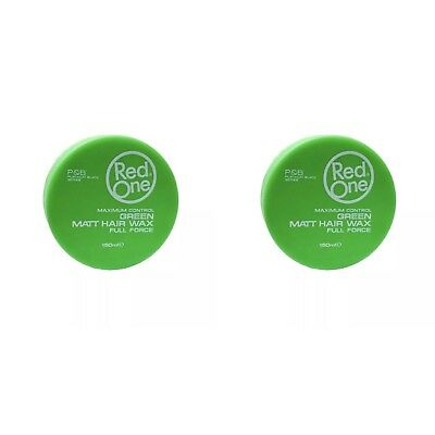 2 X Red One Green Matte Wax Style Force 150 ml RedOne / SAME DAY POST