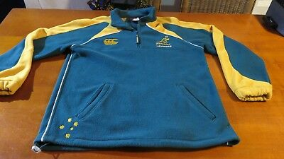 Qantas Wallabies Rugby Union Team Supporters Jacket Size M - Canterbury Brand