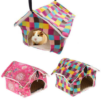 Rodent House Small Animal Pet Suplies Hamster Gerbil Rat Rabbit with Cool Mat