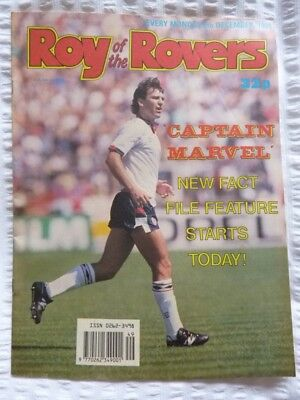 Roy of the Rovers Comic 09 12 1989 Exc