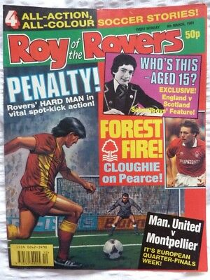 Roy of the Rovers Comic 09 03 1991 Exc Condition
