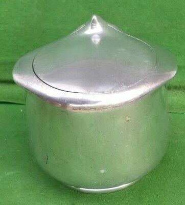 Vintage Picquot Ware Sugar Basin with hinged lid