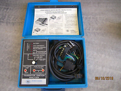 Kent-Moore J26350 Transistor Ignition Analyzer In Case And Directions