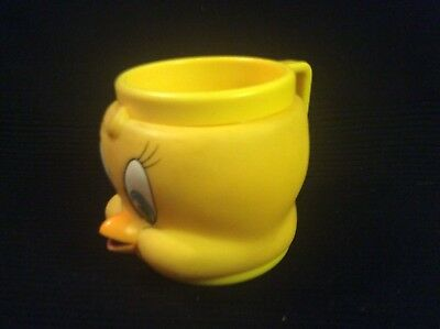 KFC Tweety Bird Cup 1992 Promotional Looney Tunes Plastic Collectors Cup 4X4""