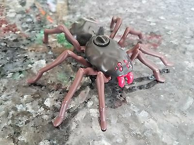 "WIND-UP BLACK WIDOW TARANTULA SPIDER LEGS MOVE 2014 RED FANGS 5""x5"" CAKE TOPPER"