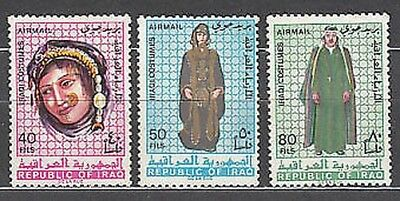 Iraq - Air Yvert 19/21 Mnh Suits regional