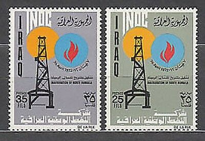 Iraq - Mail Yvert 678/9 Mnh Refinery