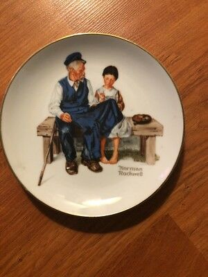 VINTAGE 1984 Norman Rockwell The Lighthouse Keeper's Daughter Collector Plate