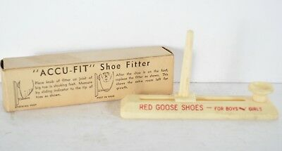 Red Goose Shoes  Accu Fit Shoe Measure With Box Boys And Girls