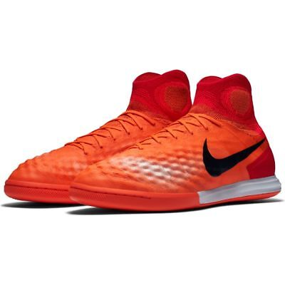 4a3893da80b Nike Mens MagistaX Proxmio IC Indoor Soccer Shoes (Total Crimson University  Red)