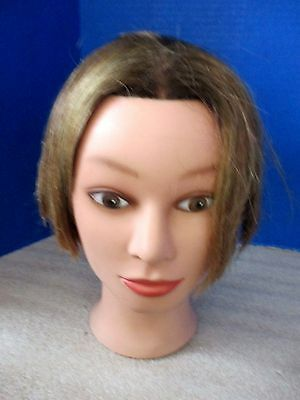 MISS SUZIE-KIN~Short Haired Cosmetology Mannequin Head