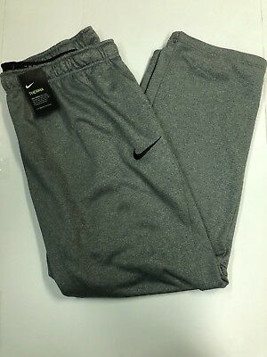 NWT NIKE Dri-Fit Therma Gray Sweat Pants Big and Tall Sizes (800191-091)
