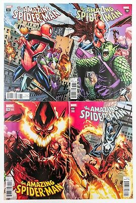 Amazing Spider-Man #797 - 800 Connect Variant Set + Reg Covers (2018 Marvel) NM